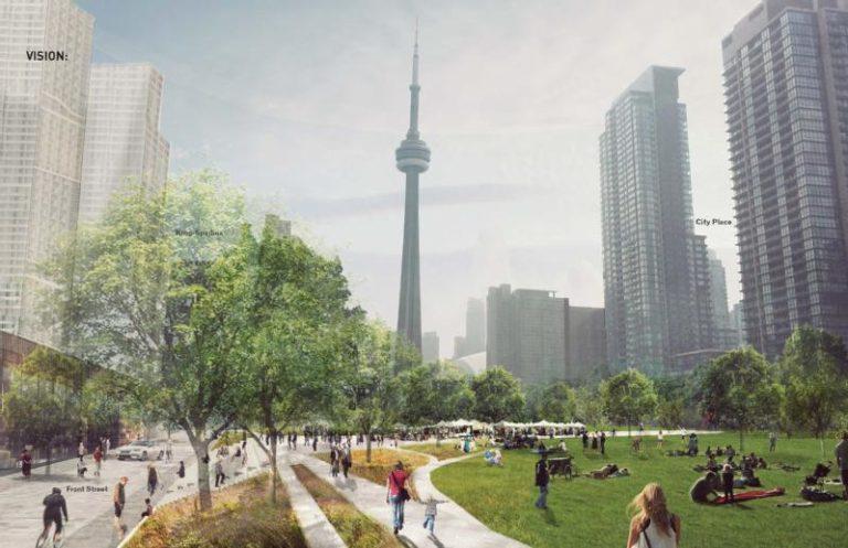 Toronto working to advance Rail Deck Park