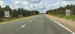 Signs Warning of Speed Limit of 110 in Nova Scotia