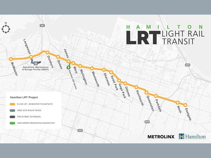 RFP issued for Hamilton LRT