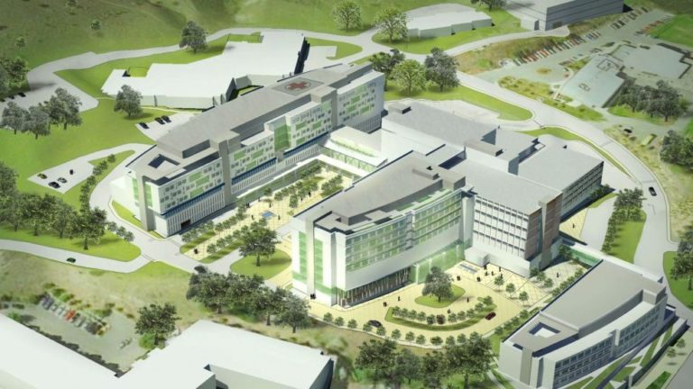Royal Inland Hospital reaches topping-off milestone