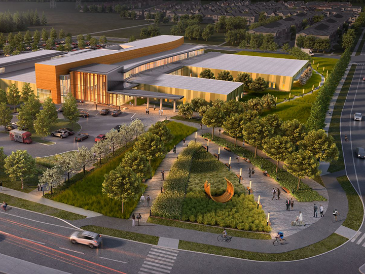Preferred proponent selected for Orleans Health Hub