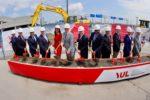 A-roports de Montr-al-Construction begins on the REM station at