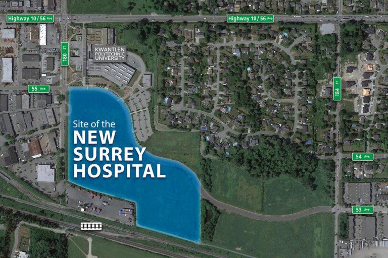 Planning underway for second hospital in Surrey