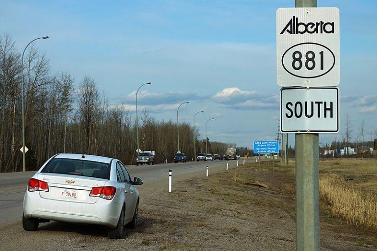 Alberta investing $50 million for Highway 881 upgrades