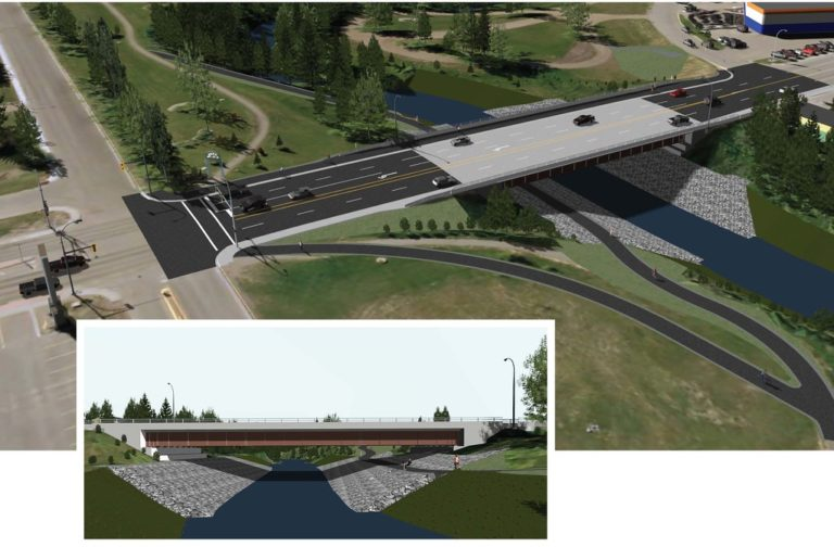 New bridge to help protect Dawson Creek from flood events