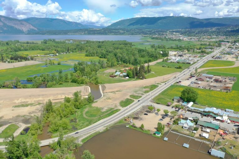 Major road improvements move forward in Salmon Arm, BC