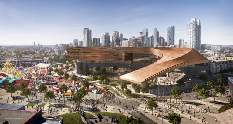 Calgary Stampede unveils design for expansion of BMO Convention Centre