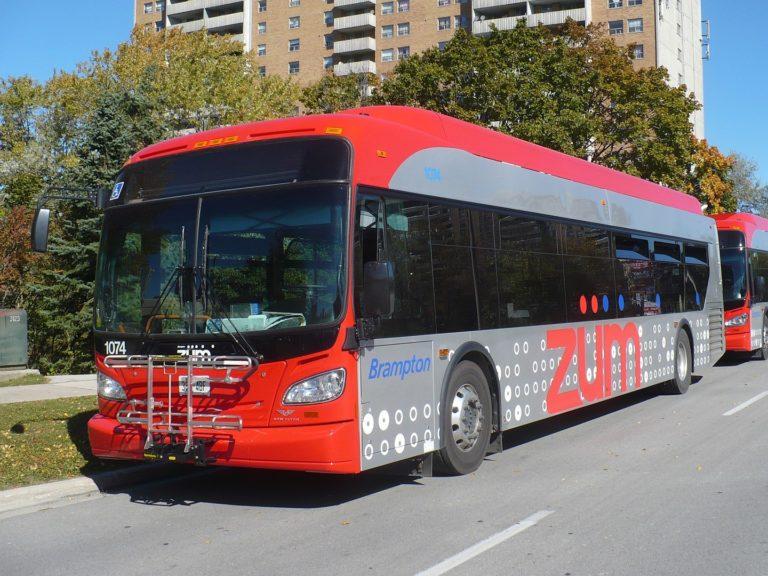 Brampton announces plans to construct large electric bus transit facility