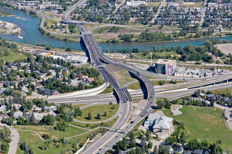 Complex Crowchild Trail transportation project is complete