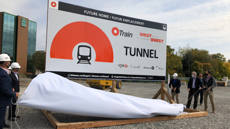 Ottawa's stage two LRT tunnel construction starts