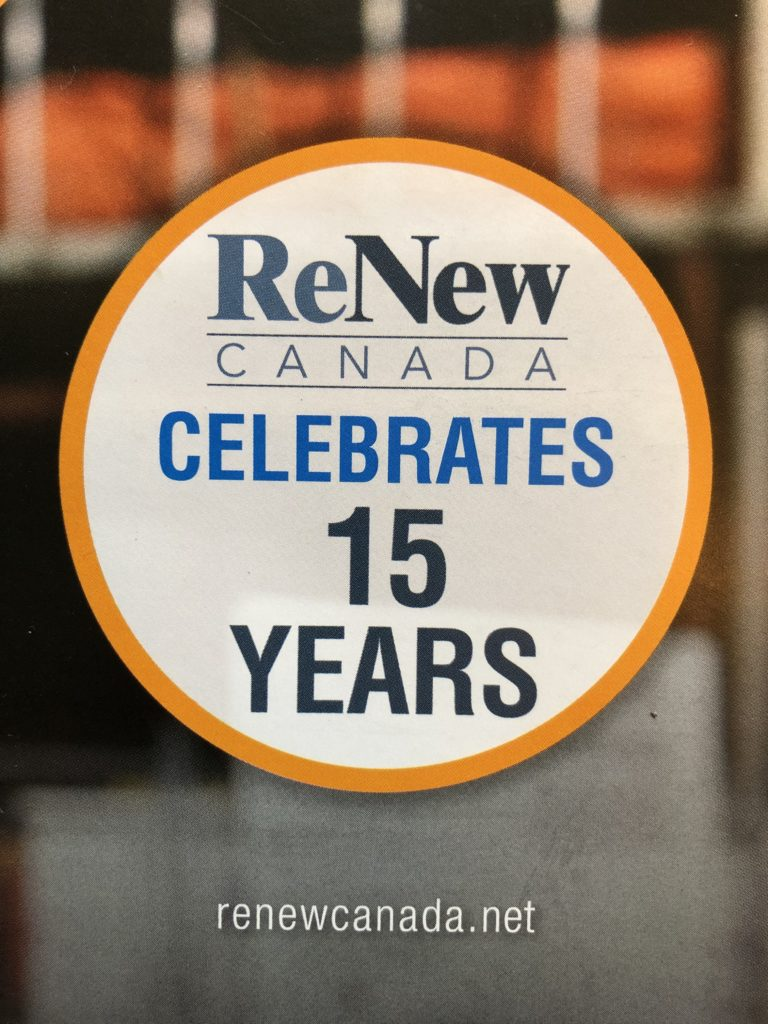 ReNew Canada celebrates 15 years in infrastructure
