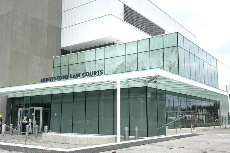 Redeveloped B.C. courthouse to open in new year