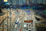traffic on highway ontario
