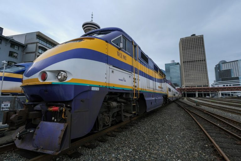Public transit investments for West Coast Express