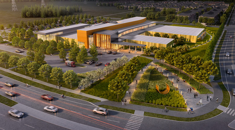 Orléans health hub project reaches substantial completion